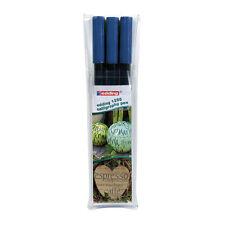 Edding Calligraphy Pen Set 3 Pens 2mm  3.5mm 5mm - Steel Blue