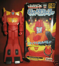 Japanese vintage Transformers HOT ROD talking vinyl figure +BOX Takara Japan toy