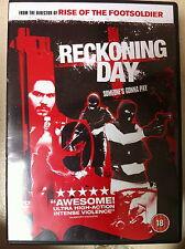 Dominic ALAN SMITH Reckoning Día ~2002~ Británico Acción SUSPENSE GB DVD