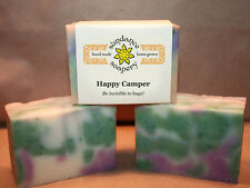 Homemade Soap  HAPPY CAMPER ! SMELLS AWESOME! All Natural Handmade No Bug Soap