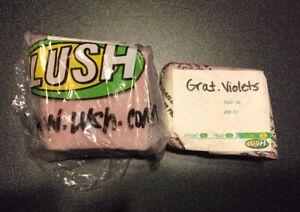 rare Lush Gratuitous Violets 8.4 oz Cut Soap discontinued