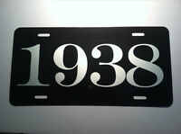1938 YEAR LICENSE PLATE FITS CHEVY FORD CHRYSLER BUICK PACKARD NASH DESOTO DODGE