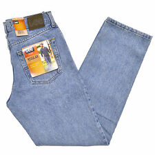 Lee Jeans Mens Light Stone Regular Fit Straight Leg Classic Fit Denim Stonewash