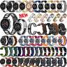 20/22mm Universal Watch Band Leather/Silicone/Steel Men Women Sport Watch Strap