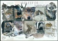 NEDERLAND: UITGAVE 2019 VEL BELEEF DE NATUUR. (ZOOGDIEREN)