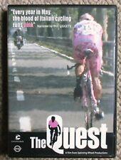 The Quest 2003 Giro d'Italia DVD Gilberto Simoni Cannondale Very Clean