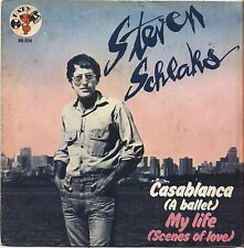 "STEVEN SCHLAKS - Casablanca - VINYL 7"" 45 ITALY 1976 VG+ COVER VG+ CONDITION"