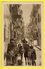 cpa Tableau Provence TOULON (Var) La rue de l'HÔPITAL près de la DARSE VIEILLE