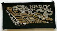 Heavy Metal - Old Og Vintage 70/80 `S Tessuta Toppa Cucire su Aufnäher Écusson