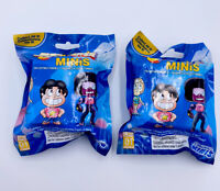 Steven Universe Minis Collectible Figures Series 1 Lot of 2 Blind Bag NEW SEALED