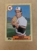 1987 Topps #455 Mike Boddicker ORIOLES MINT
