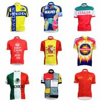 Short Sleeve Bike Cycling Jerseys Bicycle Breathable Sportswear Tops Shirts Tee