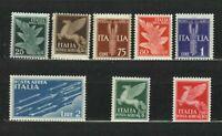 s33551 ITALIA 1930/32 MNH Soggetti Allegorici PA Air Mail 8v #10/17