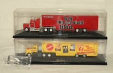 Herpa 1:87 in PC - Mack Media Markt & Kenworth Sinalco - Truck Koffersattelzug