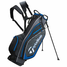 Genuine TaylorMade Tm18 Pro Stand Carry 6.0 Golf Bag Black/charcoal/blue New2018