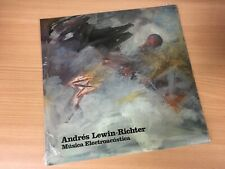 ANDRES LEWIN-RICHTER Musica Electroacústica LP *SEALED* lasry baschet