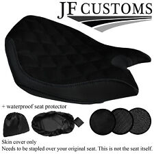 DSG4 BLACK ST CUSTOM FOR DUCATI PANIGALE 899 1199 FRONT SEAT COVER + WSP