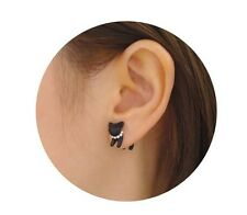 3D Animal Pearl Ear stud Earring Cat 1 Piece