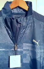 Puma Energy Windbreaker Jacket Men Sz XL NWT $80.00 Blue
