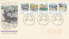 AUSTRALIA 11 JUNE 1992 LANDCARE OFFICIAL FIRST DAY COVER SHS