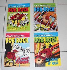Serie 4 Alan Ford BOB ROCK 1, 2, 3, 4 Spin Off Max Bunker 1996 Anno I