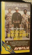RICERCATI : UFFICIALMENTE MORTI  VHS ORIGINALE (1987) con Nick Nolte