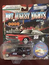 Greenlight 1968 Plymouth Roadrunner Black with Flames 1:64 Diecast 1 of 3146