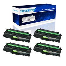 4PK MLT-D105L Black Toner For Samsung SF-655R SCX-4600 SCX-4623F 4623FN 4623FW