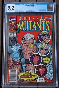 New Mutants #87 CGC 9.2 1st app CABLE STRYFE Liefeld & McFarlane Cover Marvel