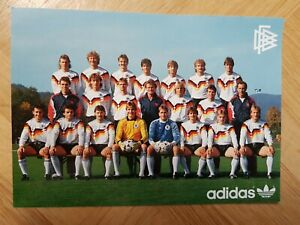 DFB MANNSCHAFTSFOTO AK WM 1990 KEIN TRIKOT MANNSCHAFTSKARTE