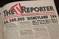 Disneyland Original Walt Disney Announcement Apr 1954 ABC TV Hollywood Reporter