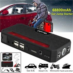 600A Auto Starthilfe Jump Starter Ladegerät Starthilfe Booster Powerbank DHL