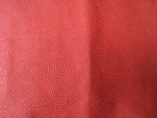 Red Novasuede Suede Alcantara Leather Red Basketball Pattern Car Trimming Fabric
