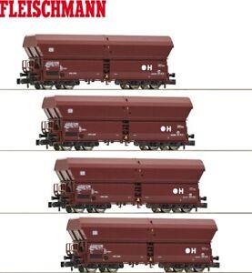 Fleischmann N 931895-2 Selbstentladewagen-Set 4-teilig der DB - NEU