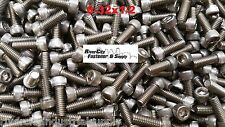 (100) 8-32x1/2 Socket Allen Head Cap Screw Stainless Steel #8 x 1/2