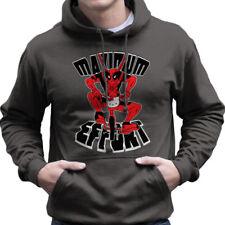 Deadpool Maximum Effort Hello Kitty Men's Hooded Sweatshirt