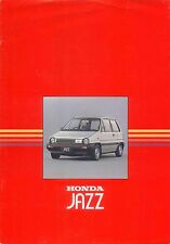Honda Jazz City 1984 Original UK Sales Brochure Pub. No. A484EH