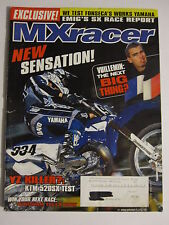 May 2000 MXracer Magazine motocross moto x dirt bike racer racing action