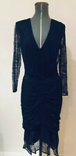 Reiss Lace Pencil/Cocktail Dress,Stunning,Navy,UK8/US4,New