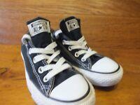 Converse CT All Star Black Canvas Caual Trainers Size UK 4 EU 36.5