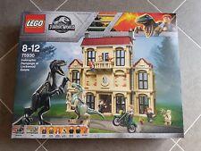 Lego Jurassic World 75930 indoraptor Rampage à Lockwood Estate, NEW & SEALED.