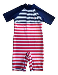 Boys kids baby swimming costume Outfit swim one piece swimsuit UV SUN PROTECT