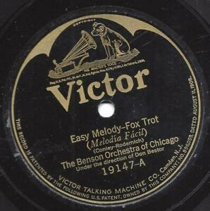 The Benson Orchestra Chicago 1926 :  Easy Melody