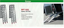 COPPIA RAMPE DI CARICO pieghevoli MOBILI moto trattore 900 KG ultraleggere