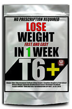 NO 1 WEIGHT LOSS PILLS T6+ STRONGEST LEGAL FAT BURNERS DIET SLIMMING MADE UK