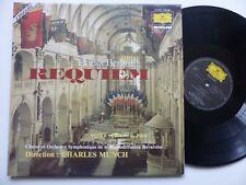 BERLIOZ Requiem PETER SCHREIER  CHARLES MUNCH  2726050 FRANCE