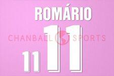 Romario #11 WM 1994 Brasilien awaykit Nameset Printing