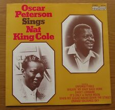 OSCAR PETERSON SINGS NAT KING COLE 1965 UK VINYL LP CLASSIC EASY SMOOTH JAZZ