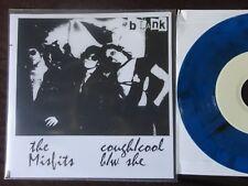 "Misfits- Cough/Cool 7"" on Ltd 100 BLUE vinyl RARE! (Danzig, Samhain, Punk, KBD)"
