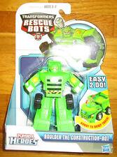 Transformers RESCUE BOTS BOULDER CONSTRUCTION-BOT Playskool Heroes DUMP TRUCK
